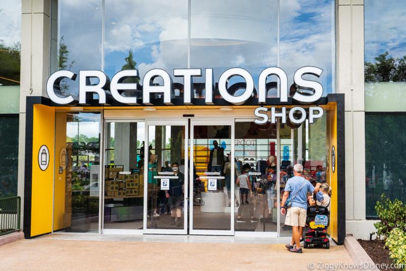 Creations Shop Entrance