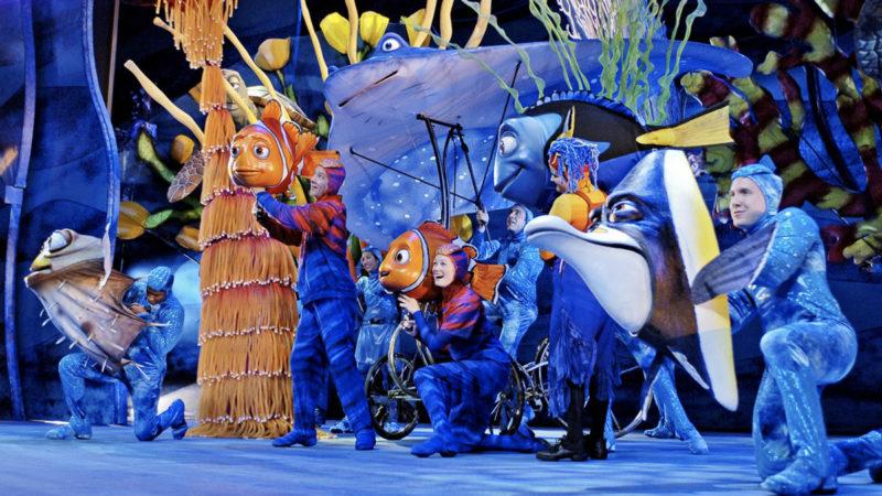 New Finding Nemo Musical Animal Kingdom