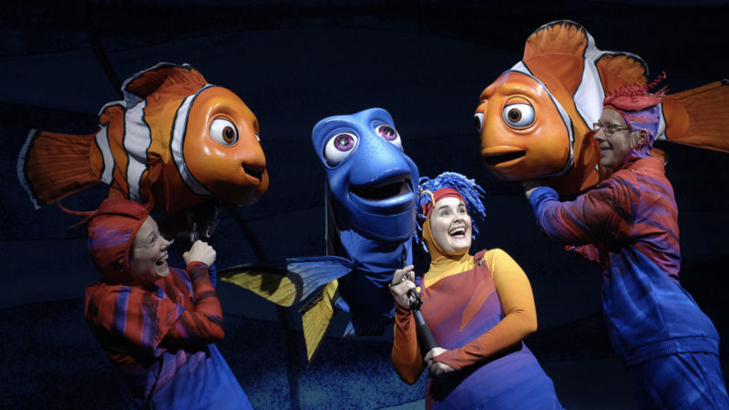 Finding Nemo Musical Animal Kingdom