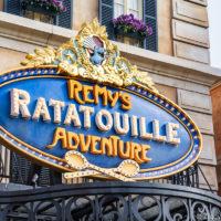 Remy's Ratatouille Adventure ride EPCOT