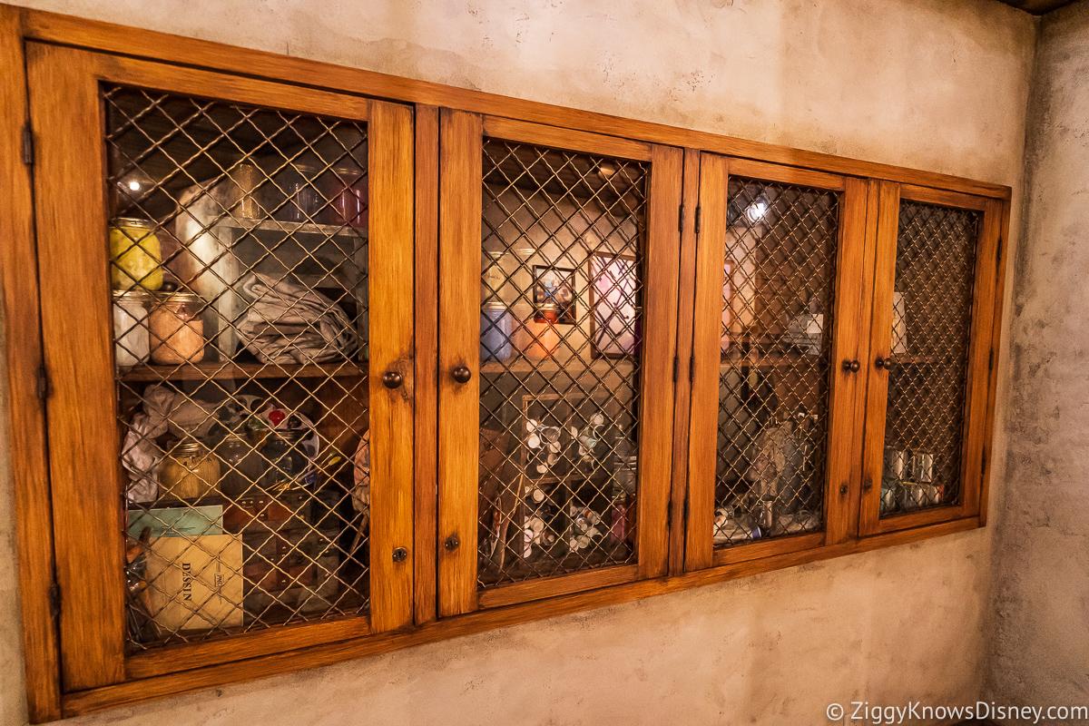 Artist supply cabinet