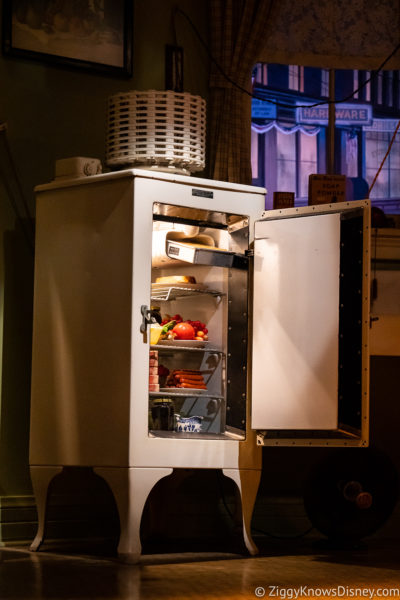 Refrigerator from Disney's Carousel of Progress