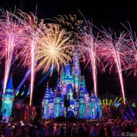 Magic Kingdom Fireworks Disney Enchantment