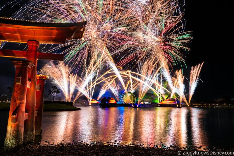 Disney Harmonious EPCOT Fireworks