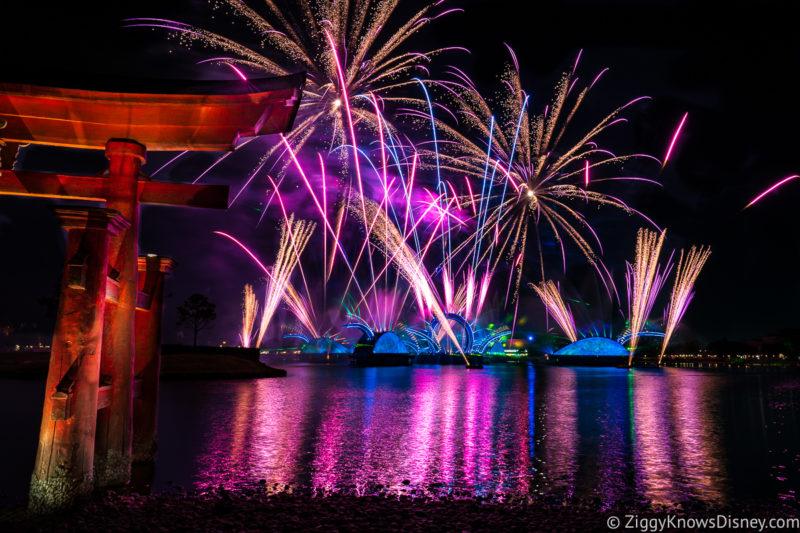 EPCOT Nighttime Spectacular Disney Harmonious