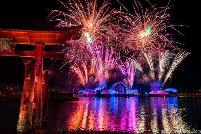 Disney Harmonious fireworks show