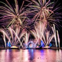 EPCOT Fireworks show Disney Harmonious
