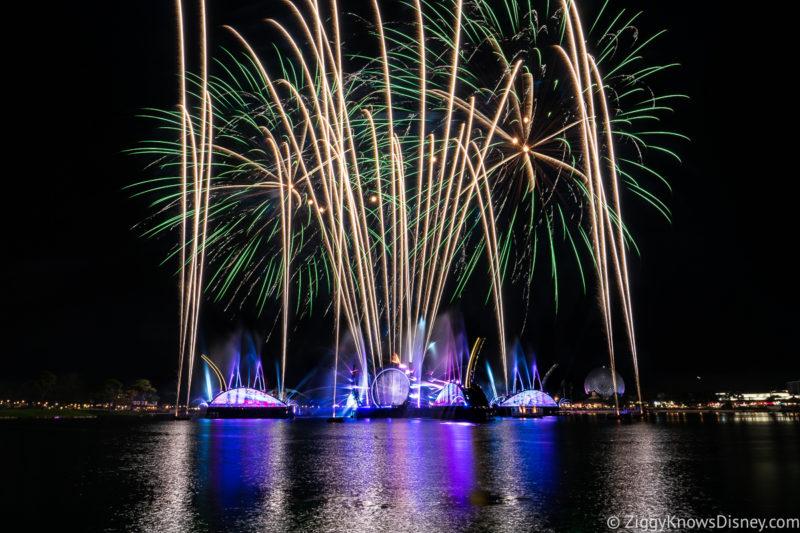 EPCOT Fireworks Disney Harmonious