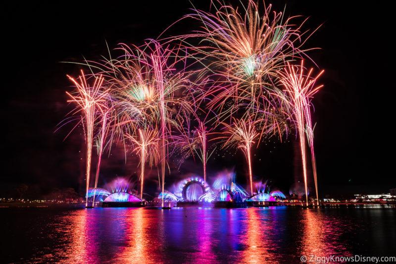 Disney Harmonious fireworks in EPCOT