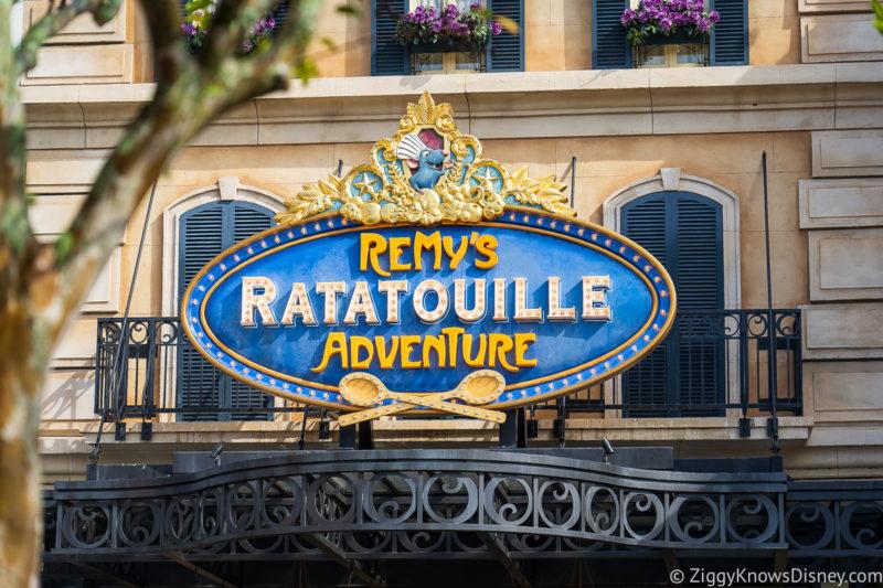 Remy's Ratatouille Adventure ride