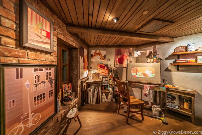 Artist room Remy's Ratatouille Adventure