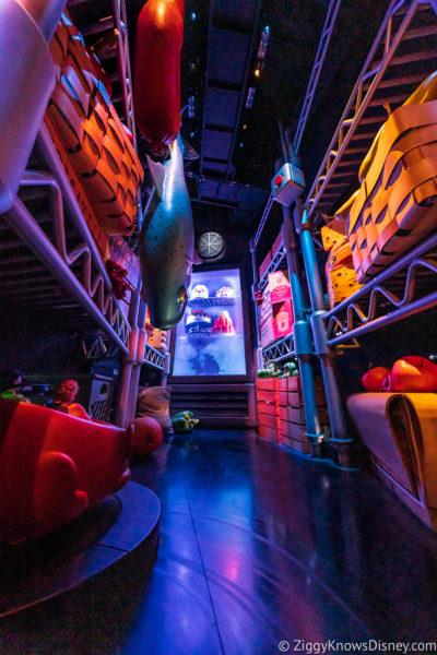 Freezer scene Remy's Ratatouille Adventure